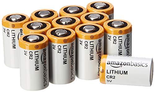 CR2-Lithium-Batterien, 3 V, 12er-Pack AmazonBasics [Prime]