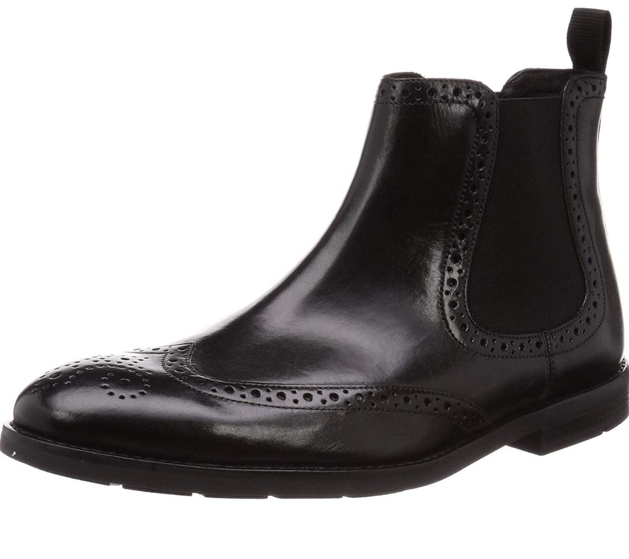 low priced b2564 41c1d Clarks Chelsea Boots in schwarz (verschiedene Größen ...