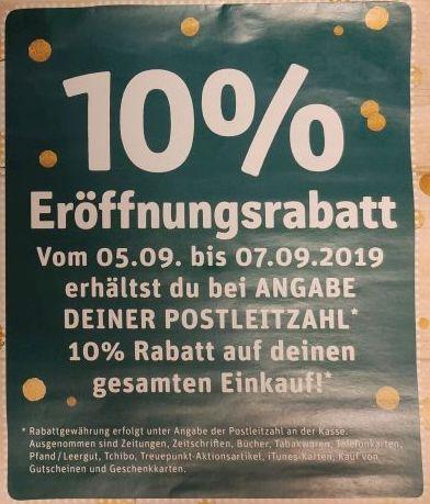 [Lokal] REWE Oberursel-Stierstadt - 10% Rabatt auf den gesamten Einkauf
