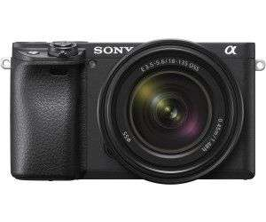 Sony Alpha 6400 Kit (ILCE-6400M) Systemkamera 24.2 Megapixel mit Objektiv 18 - 135 MM , 7.5 CM Display Touchscreen, WLAN [Saturn]