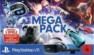 PlayStation 4  VR + Kamera + 5 Spiele (Voucher)