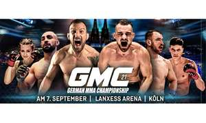 Ticket für GMC Fight Night MMA - LANXESS arena in Köln [Lokal]