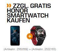 HONOR 20 Pro 256 GB Phantom Black + Honor Watch Magic für 503€ Saturn