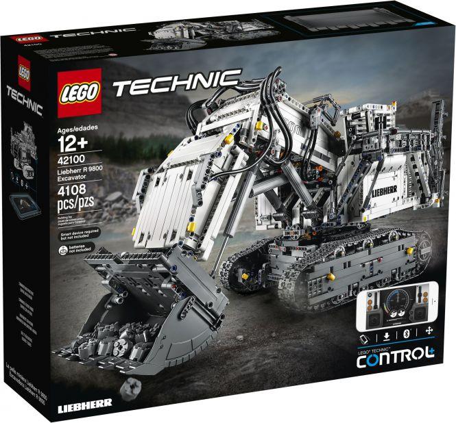 LEGO® Technic 42100 - Liebherr Bagger R 9800 für 403,94 (inkl. Versand)