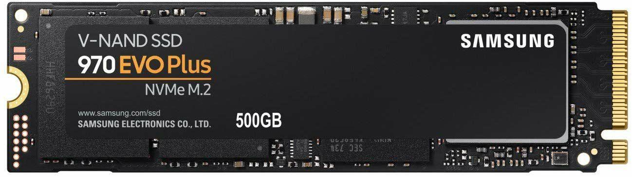 Samsung 970 EVO Plus SSD M.2 interne NVMe - 500GB (Amazon)