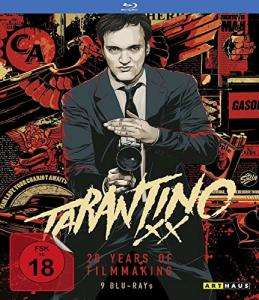 Tarantino XX: 20 Years of Filmmaking (9 Blu-rays) für 39,99€ versandkostenfrei (Saturn & Amazon)