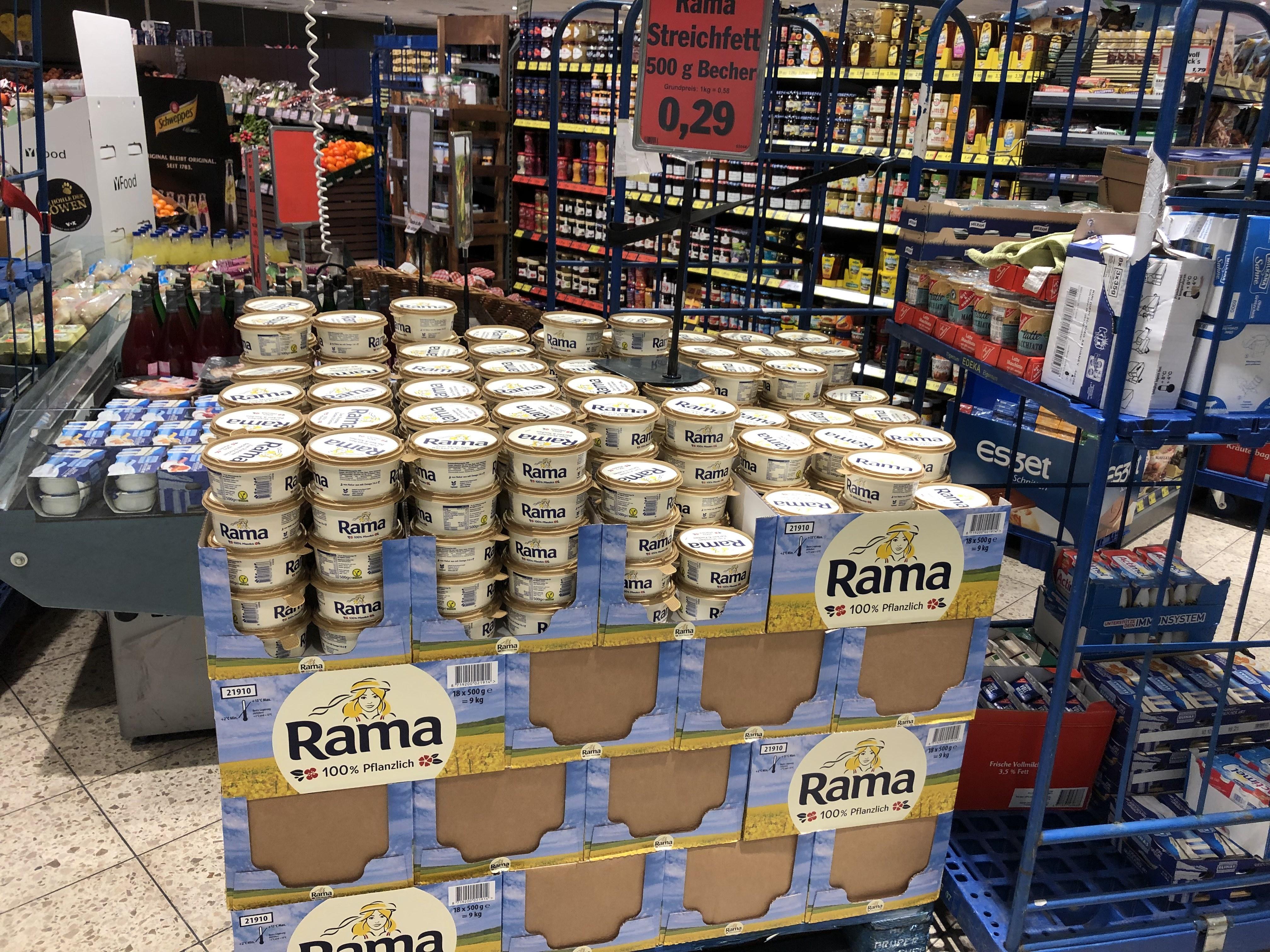 (Lokal)Rama Margarine kurzes MHD (15.09.2019) in STOLBERG