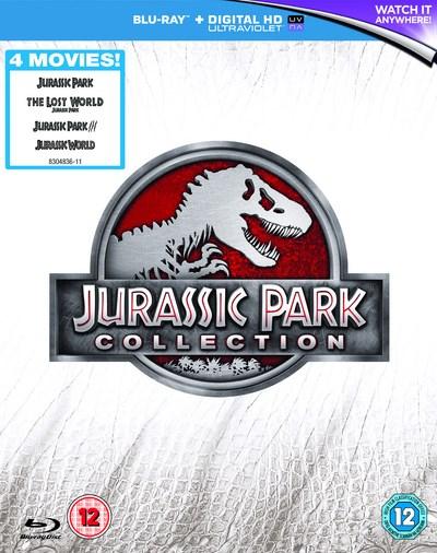 Jurassic Park Collection 1-4 (Blu-ray + UV Copy) für 9,25€ (Zoom UK)