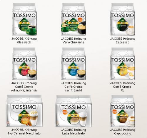 [Offline] Tassimo Kapseln ab 3,30 € pro Packung @Toom