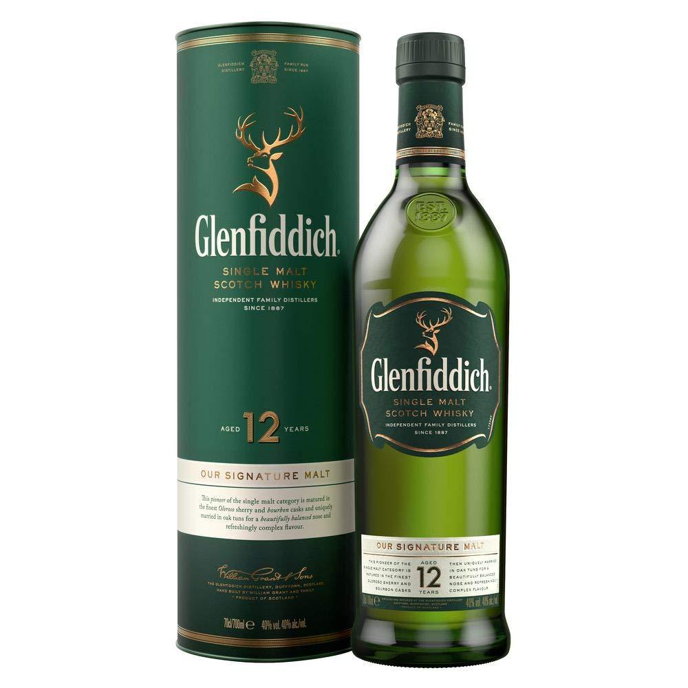 Glenfiddich 12 Jahre - Single Malt Whisky - 0,7l 40% bei [Amazon Prime / Real.de]
