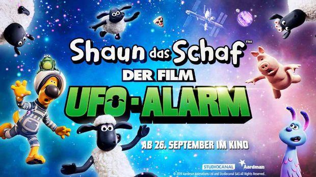 Exklusive Kino-Preview Shaun das Schaf UFOALARM