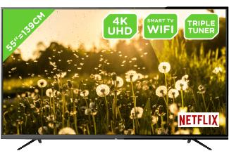 OK. ODL 55650U-TIB - 55 Zoll UHD-LED-TV, HDR, DVB-S/C/T, WiFi, Smart TV