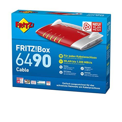 FritzBox 6490 Cable mit Direktabzug bei Amazon