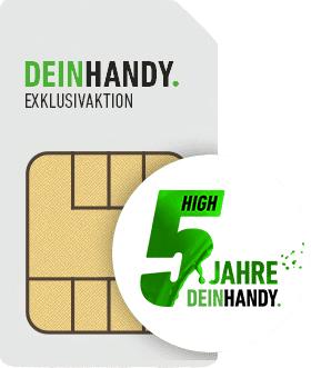 DeinHandy Tarif mit 5GB LTE, Allnet- & SMS-Flat für mtl. 9,99€ + 4,99€ AP + 50€ Rufnummernbonus (monatlich kündbar / 24 Monate, o2-Netz)