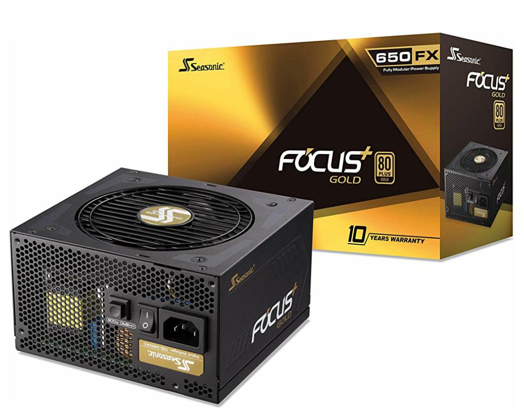 Seasonic Focus Plus 650W Gold 80 Plus vollmodulares Netzteil