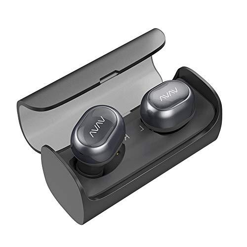 True Wireless In-Ears VAVA VA-BH002 (Bluetooth 4.1, ~3h pro Ladung bzw. ~12h dank Lade-Etui, Mono-Betrieb möglich, Mikrofon)