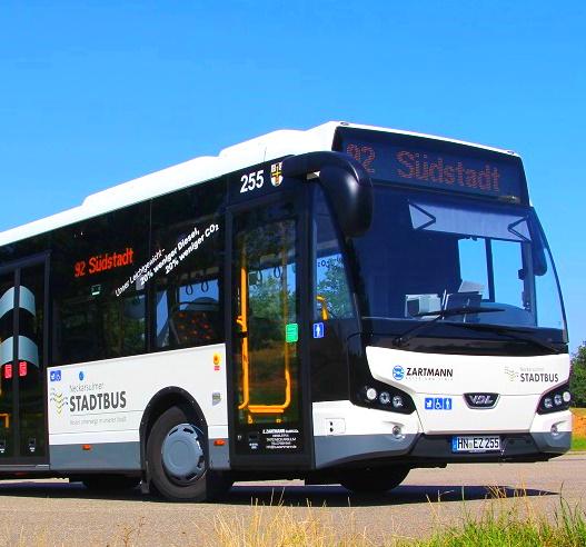 [lokal Neckarsulm] Vom 7. bis 9. September alle Busse kostenlos nutzen