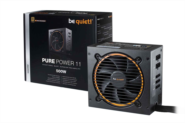 Notebooksbilliger Wochenangebote - z.G. be quiet! Pure Power 11 500W CM Netzteil   TS-251B-4G NAS Leergehäuse: 289€