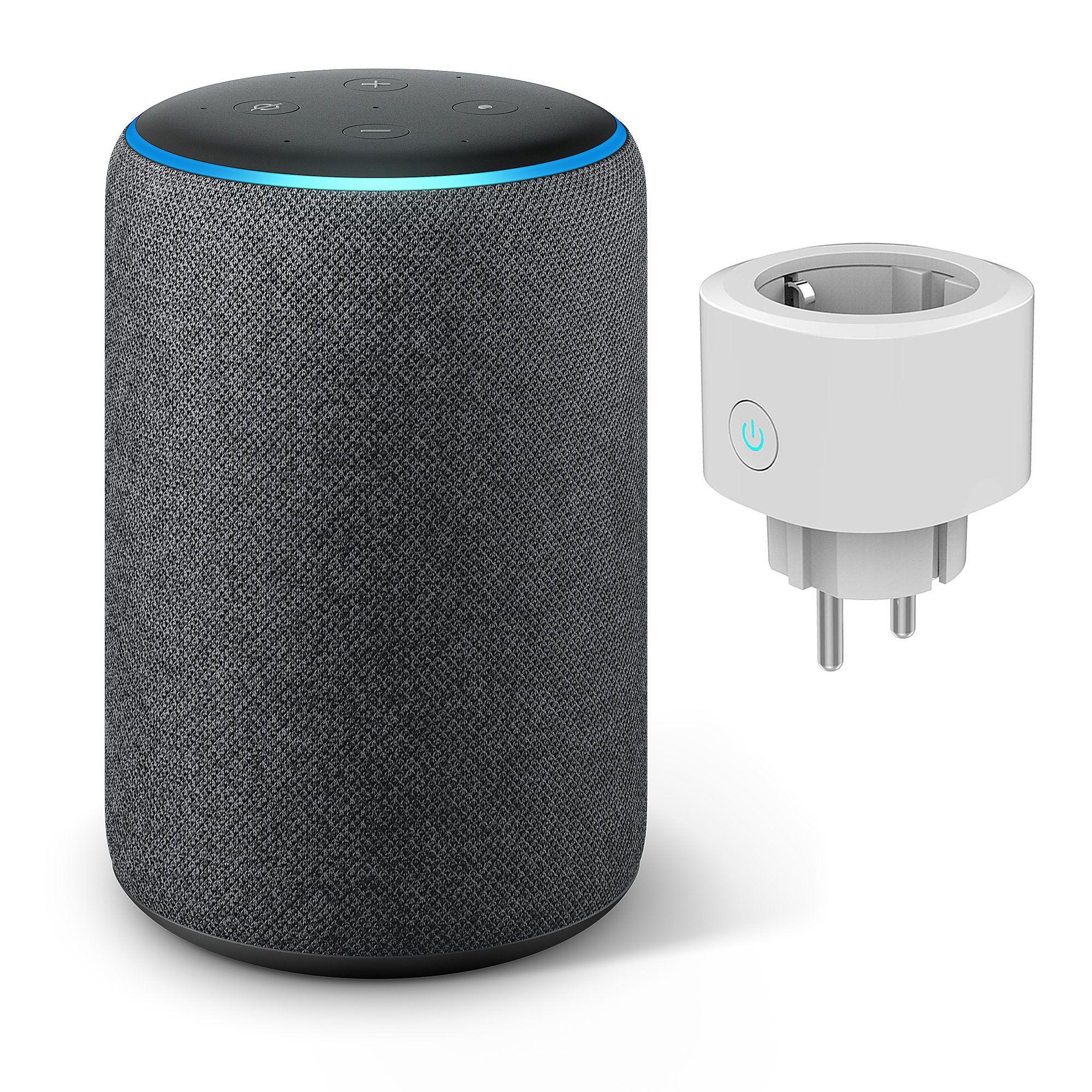 Amazon Echo Plus 2nd Gen. alle Farben + smarte Steckdose [QVC Neukunden]