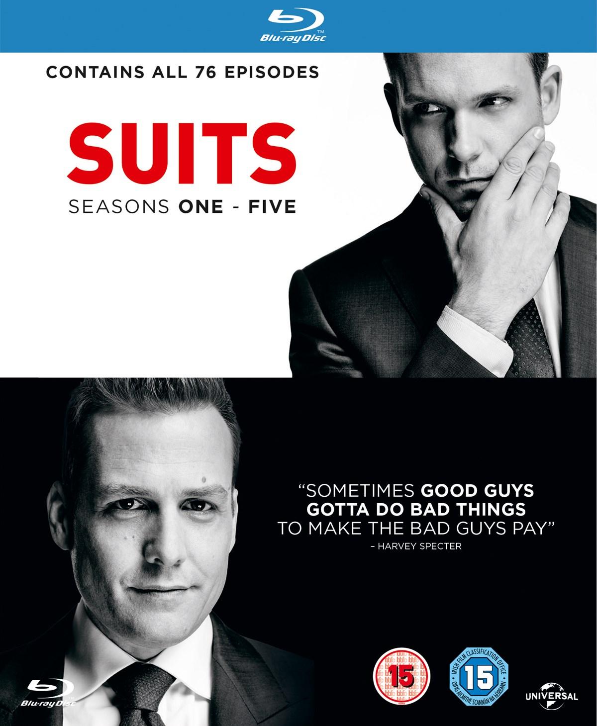 Suits - Staffeln 1 - 5 (Blu-ray) für 22,26€