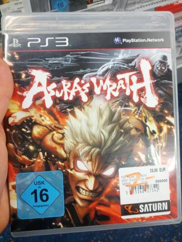 [Lokal] Asura's Wrath PS3 für 7€ @ Saturn Berlin-Zehlendorf