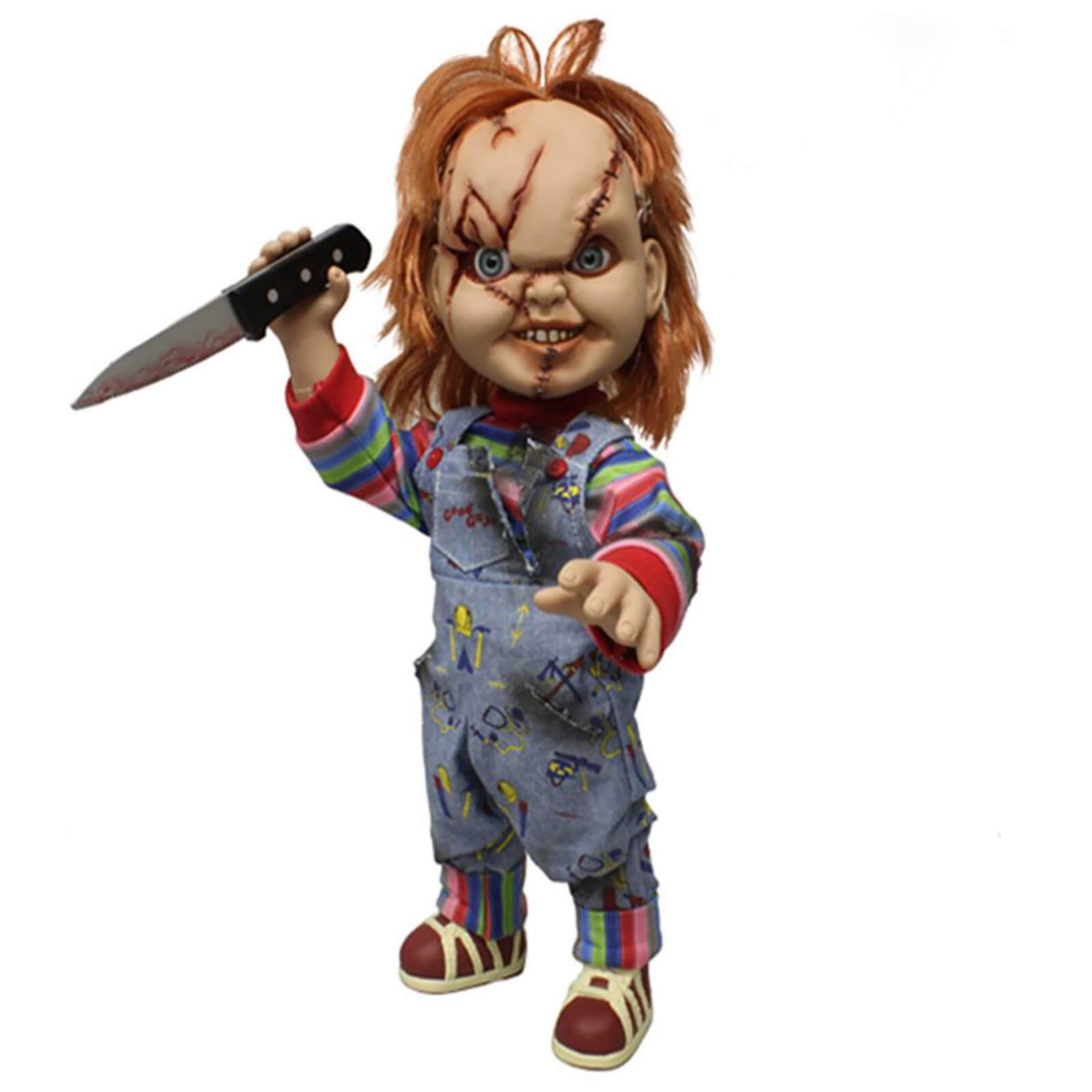 20% auf Horrorfiguren bei Zavvi: z.B. Sprechende Chucky-Puppe (38cm hoch, bewegliche Gelenke, separates Messer, Sammelbox)