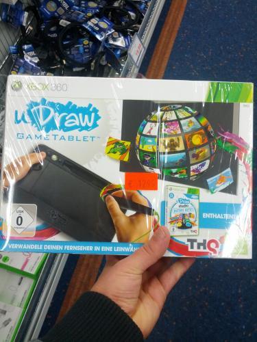 [Lokal] U Draw Gametablet inkl. Spiel Xbox 360 für 12,99€ @ Saturn Berlin-Zehlendorf