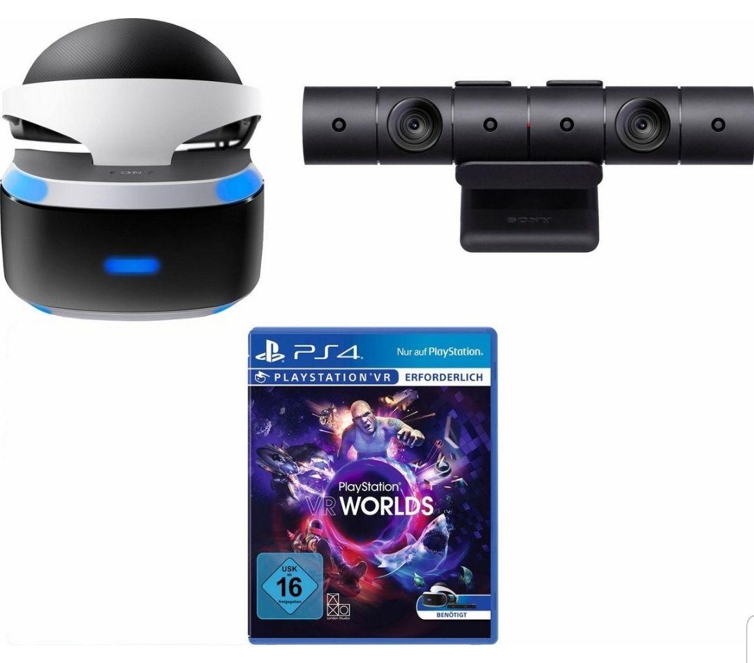 PlayStation 4, VR + Kamera + VR Worlds