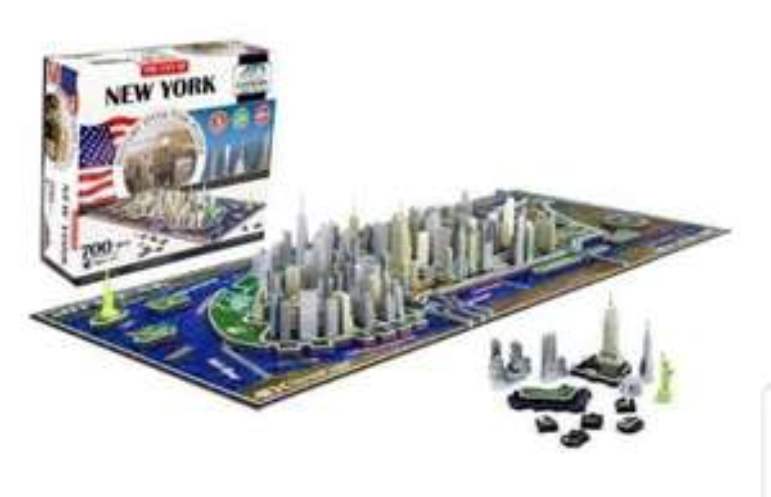 4D Cityscape Inc. New York Time Puzzle