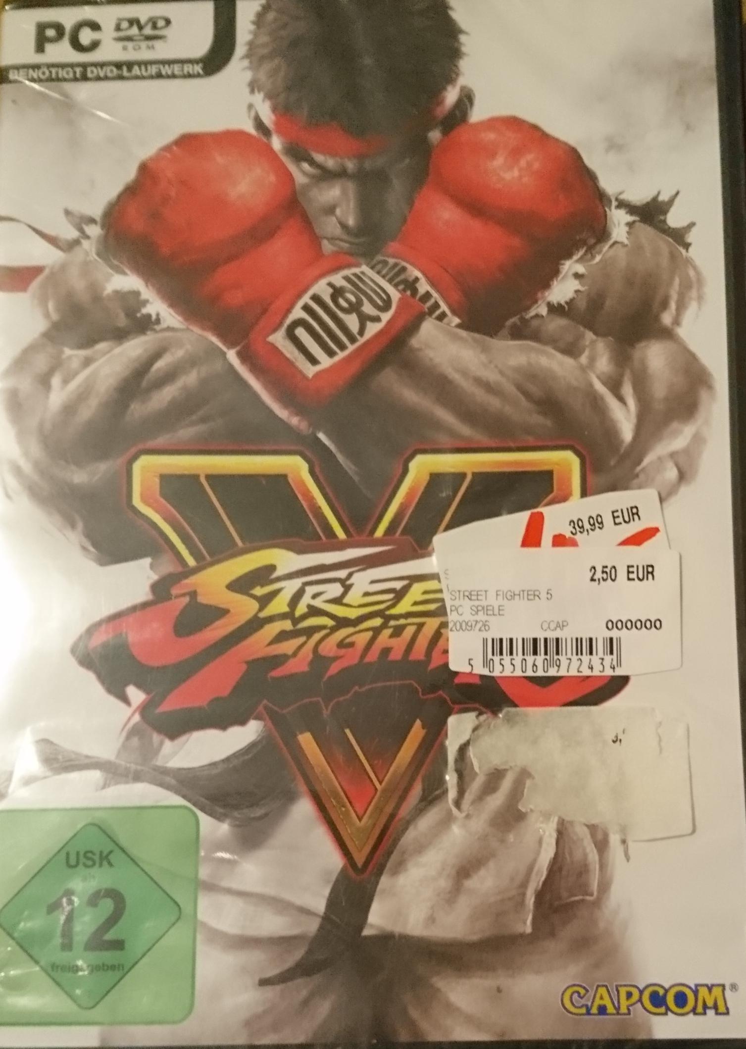 [LOKAL] Street Fighter V für PC (Boxversion) 2,50€ im Saturn Karlsruhe-Durlach