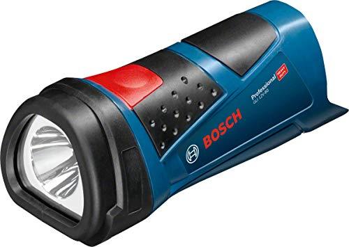 Bosch Professional Akku Taschenlampe GLI 12V-80 (ohne Akku, 12 Volt, im Karton) [Prime]