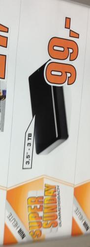 3TB CN Memory USB 3.0 Festplatte Nur Sonntag 99€ Gummersbach