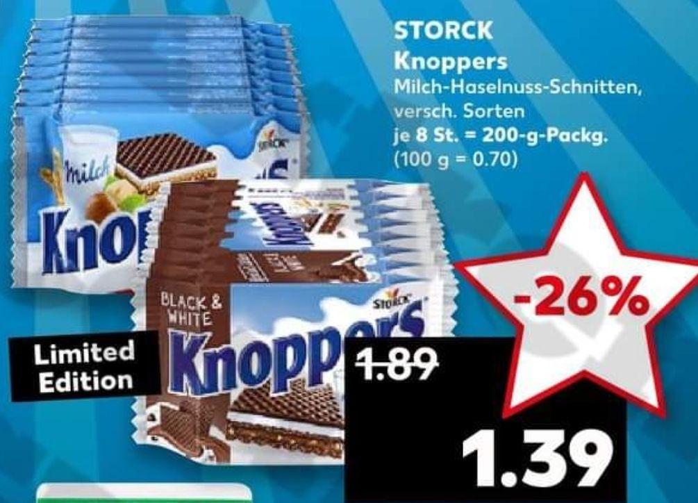 [Kaufland] Nur am 14.09 Knoppers vers. Sorten für 1,39€, Pfanner Eistee 0,88€