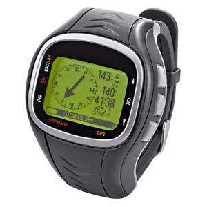 GPS-Uhr mit SiRF IV-GPS-Chip vom Hersteller Globalsat bei Real