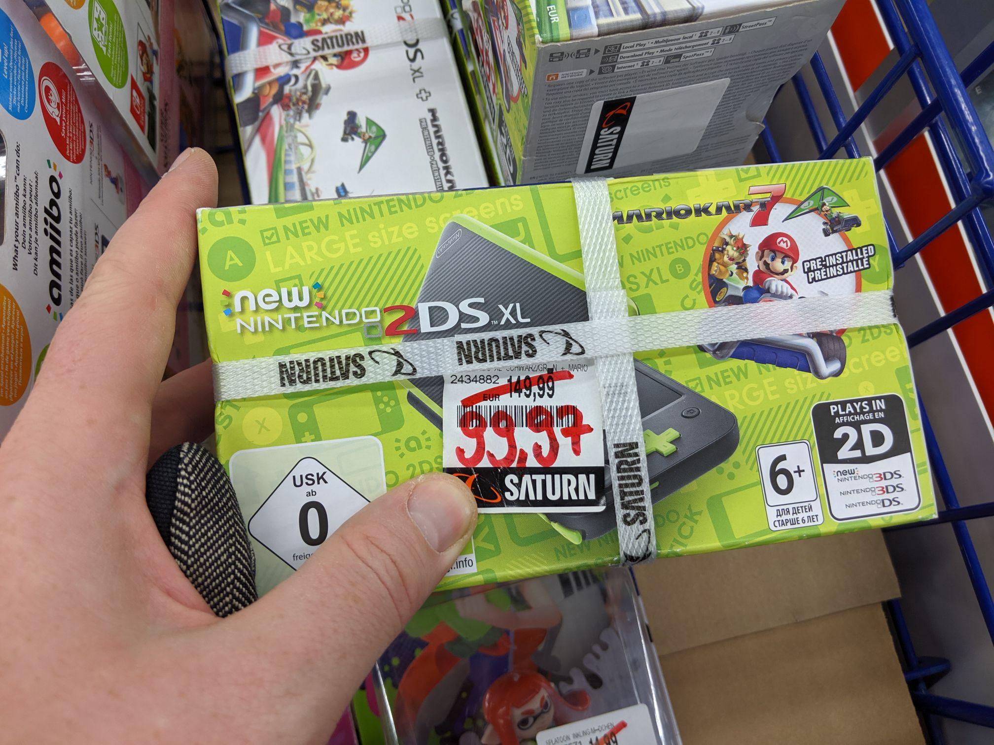 [Lokal Kerpen] Nintendo new 2DS xl mit Mario Kart 7