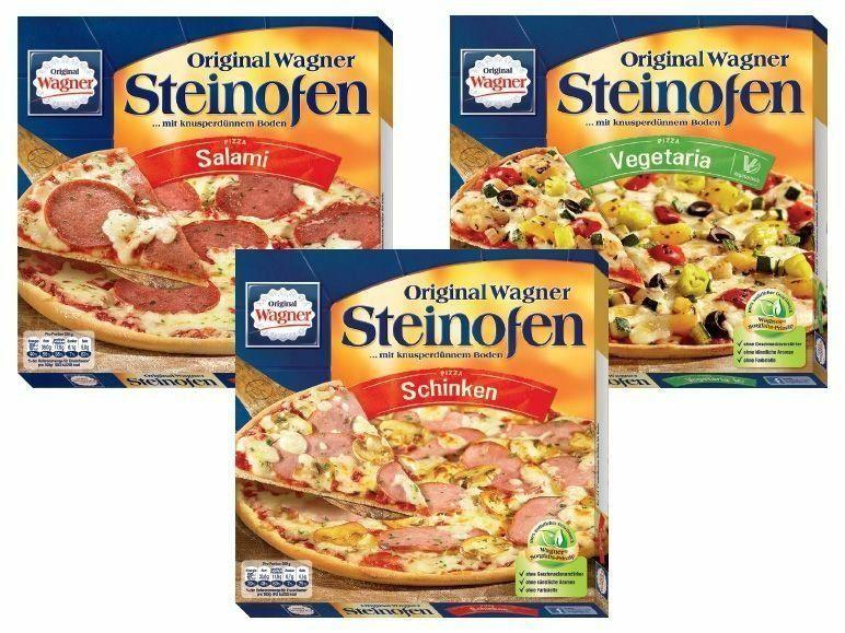 Wagner Steinofenpizza verschiedene Sorten für nur 1,35€ +++ 20x 0,5l Warsteiner für 8,80€
