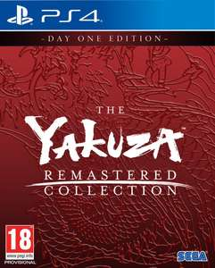 Yakuza Remastered Collection (PS4) Day One Edition für 43,57€ (Base.com)