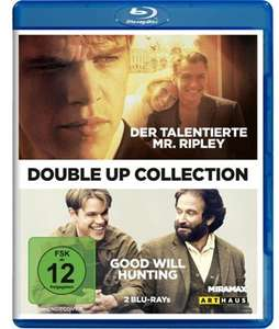 Good Will Hunting + Der talentierte Mr. Ripley Double-Up Collection (Blu-ray) für 5,87€ (Saturn)