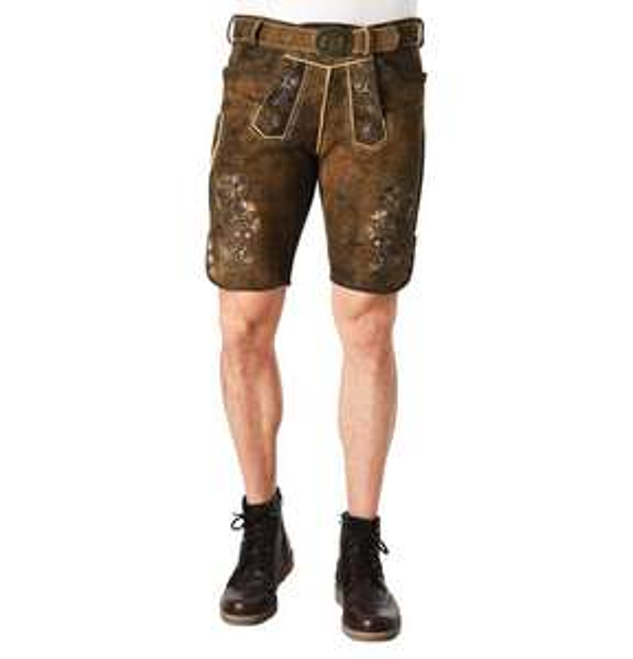 Wiesn-Outfit Männer - Sparset Hose-Schuhe-Hemd-Weste - Tracht mit Qualität