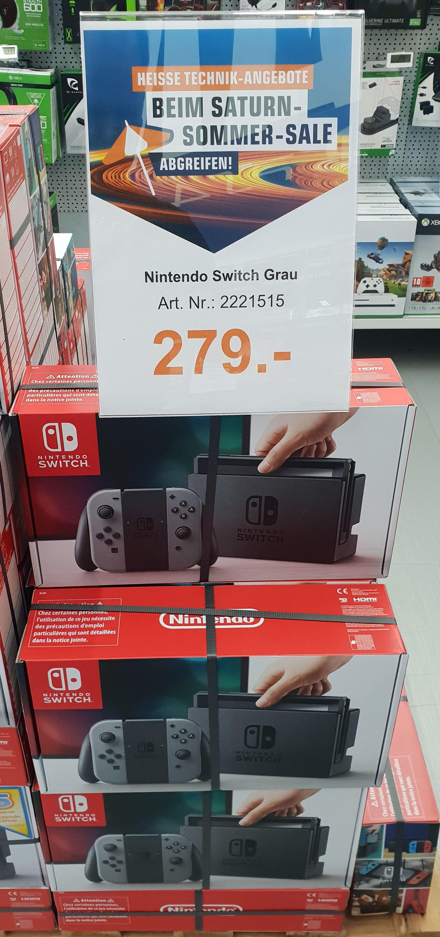 Nintendo Switch grau ( alte Revision ) für 234.44 Euro. LOKAL SATURN GUMMERSBACH