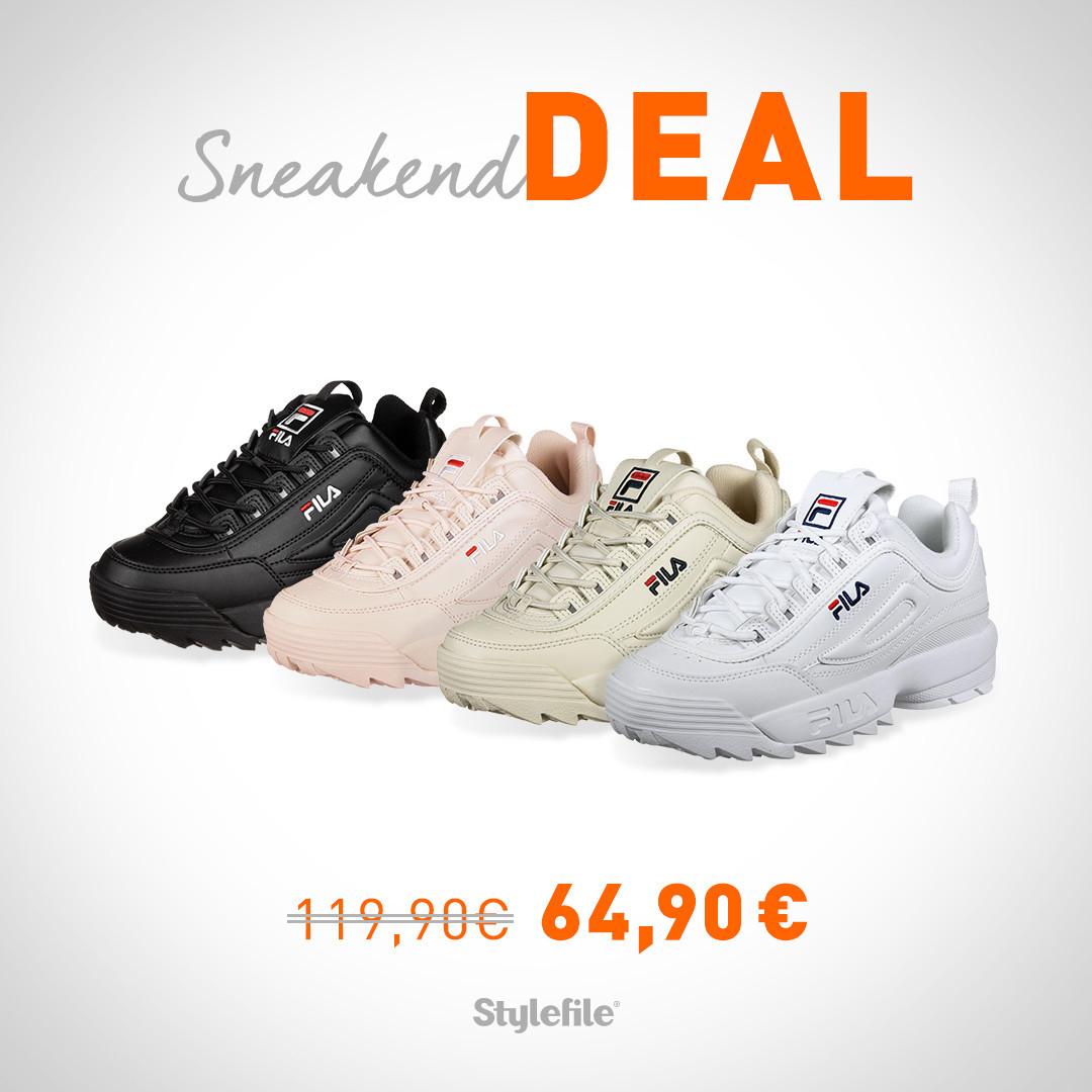 SneakendDeal bei Stylefile: Fila Disruptor Low Women (Größe 36-41)