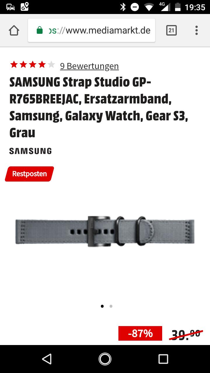 Samsung Ersatzarmband