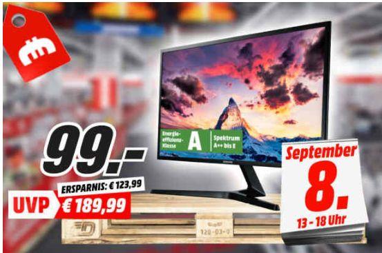 """[Regional Mediamarkt Berlin/Nur am Sonntag] Samsung S27f358 27"""" Monitor (FHD, IPS, 60Hz mit AMD FreeSync, 6bit+FRC, 250cd/m², 4ms für 99,-€"""