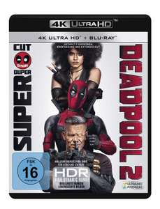 Deadpool 2 4K (2x 4K UHD + 2x Blu-ray) & Deadpool 4K (4K UHD + Blu-ray + UV Copy) für je 14€ Versandkostenfrei (Media Markt)