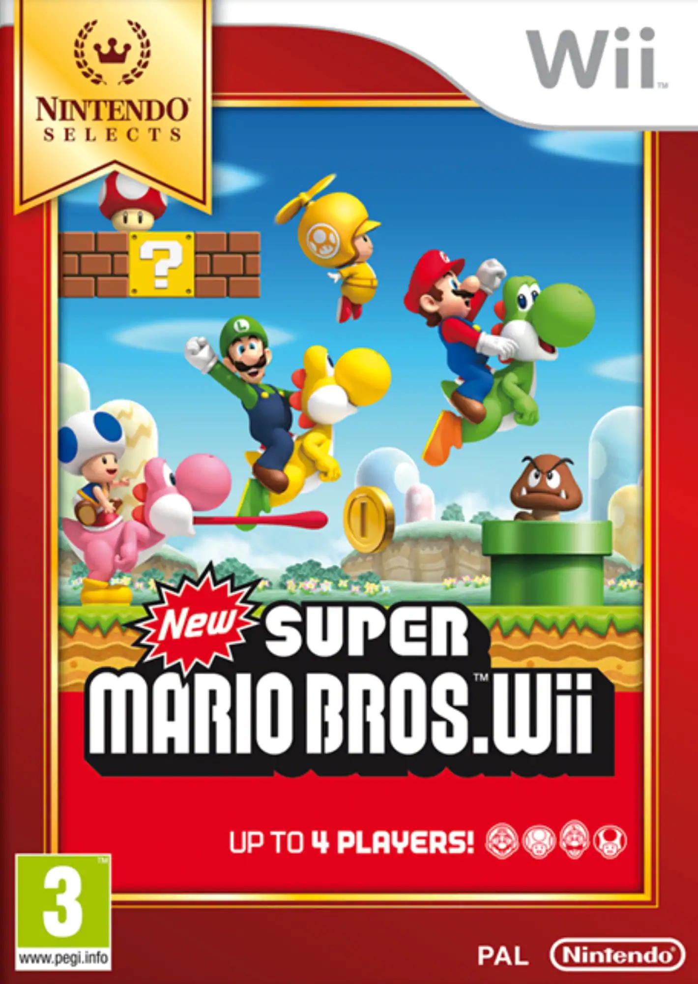 New Super Mario Bros. (Wii) für 13,82€ (Amazon IT)