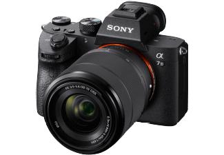 SONY Alpha 7 M3 KIT (ILCE-7M3K) Systemkamera 24.2 Megapixel mit Objektiv 28 - 70 mm , 7.5 cm Display Touchscreen, WLAN