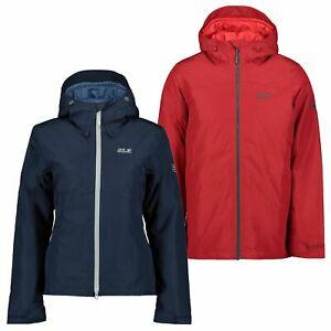 (Ebay Deal) Jack Wolfskin Elgin Sky Funktionsjacke Damen (Blau), Herren (Rot)