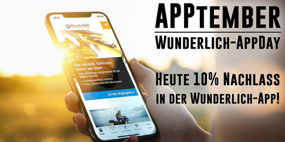 (BMW Motorrad Zubehör) - 10% Rabatt in der Wunderlich-App