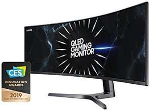 Samsung C49RG94SSU (49 Zoll) Curved Gaming Monitor, Dual WQHD, 32:9, 5120 x 1440 Pixel, 120 Hz, 4 ms, Schwarz [Amazon]