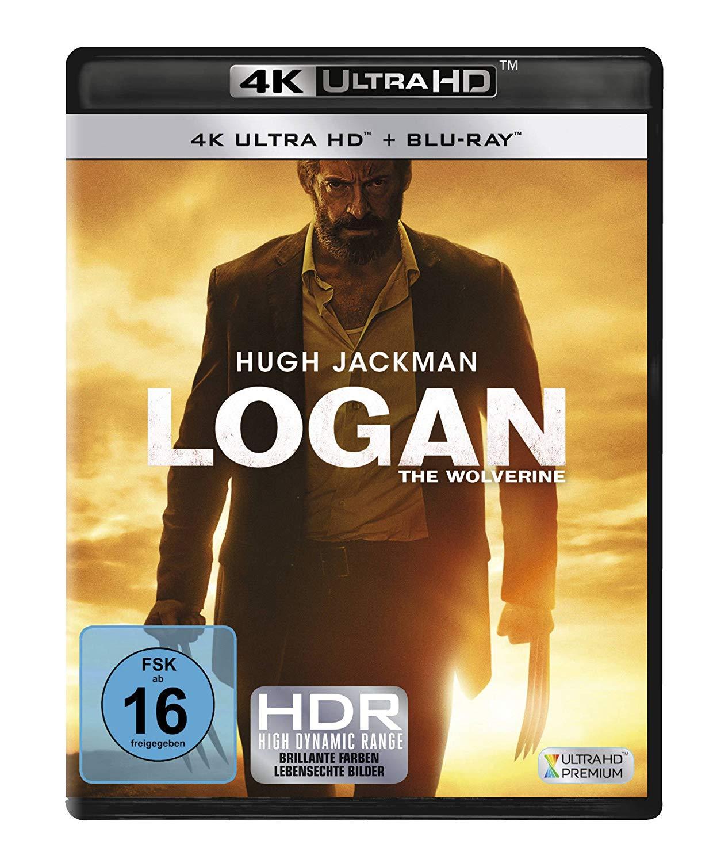 Logan The Wolverine & Der Marsianer Rettet Mark Watney & The Revenant Der Rückkehrer & Greatest Showman 4K (4K UHD + Blu-ray) für je 14€